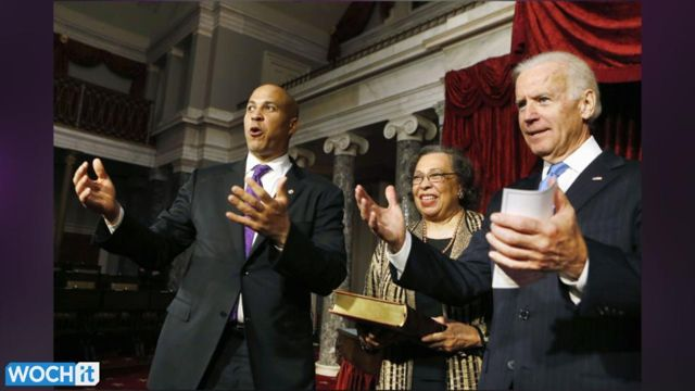 News video: Former Newark Mayor Cory Booker Sworn In As U.S. Senator
